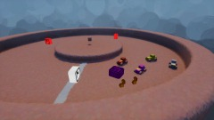 Example racing game