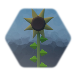Green hill zone animated flower