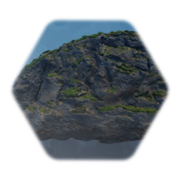 Realistic Mossy Rock