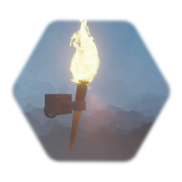 Medieval torch (duel use)