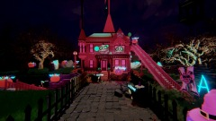 The Pink Palace Apartments At Halloween! - Edition 1!