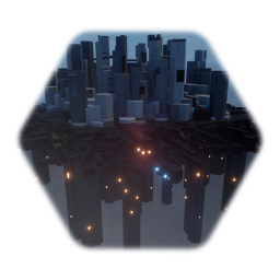 Spaceship City Module (City Background) V. 1.0