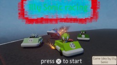 Illy sonic racing title screen