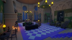 Slytherin common room (3.0)