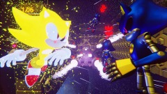 Super Sonic: Boss Battle