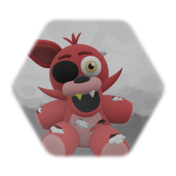 Withered Foxy Plush