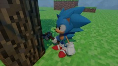 Sonic in MineCraft (not finished yet)