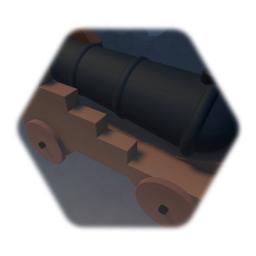 Working Pirate Ship Cannon
