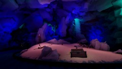 Disneyland Pirates of the Caribbean The Ride: Cave Part 2