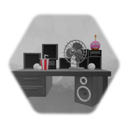 FNaF 1 Office Desk