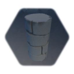 Medieval stone column section 1