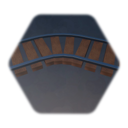 Curved Railway Track