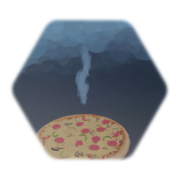 Steamy Pizza