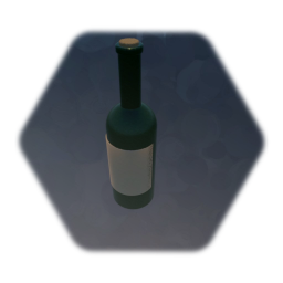 Wine Bottle - Low Thermo