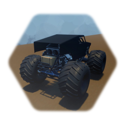 Monster truck (with skin)