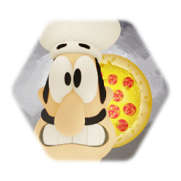Peppino - Pizza Tower (Head Sculpt)
