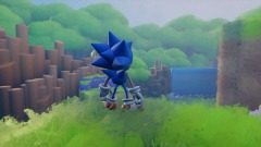 Sonic Vivacity - Green hill Animation (WIP?)