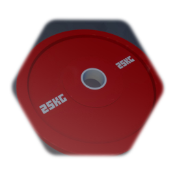 Olympic weight  lifting plate