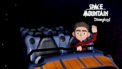 Disneyland Space Mountain Picture