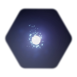 Glowing white ball - collectable