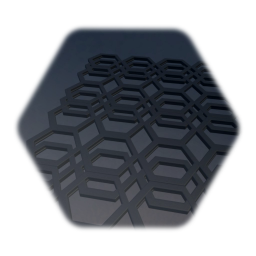 Hexagonal Grate