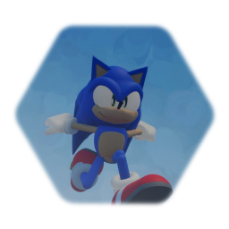 Adventure Sonic (has spin dash)