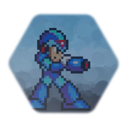 Mega man x shooting animation