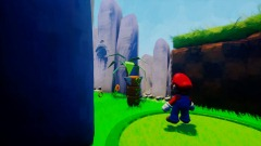 Mario in Sonic Ultra Speed adventures(Stage 1)