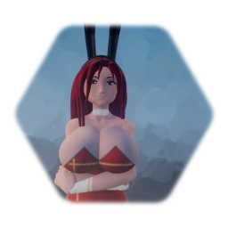 Erza bunny suit - Fairy tail