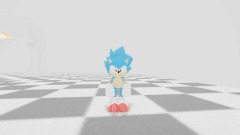 SONIC CLASSIC WORLD TEST AREA: Sonic alone