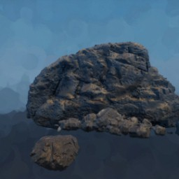 Detailed Realistic Rocks Foreground