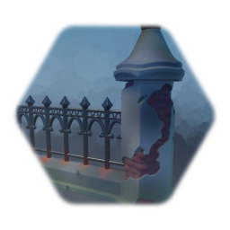 Cheap gothic fence