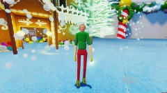 Pewdiepie But He's Trapped in a Snow Globe VR