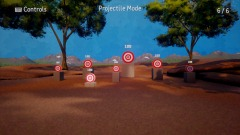 Motion-Aimed FPS Projectile Shooting Range